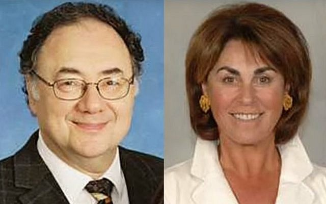 Barry and Honey Sherman (Screen capture: YouTube)