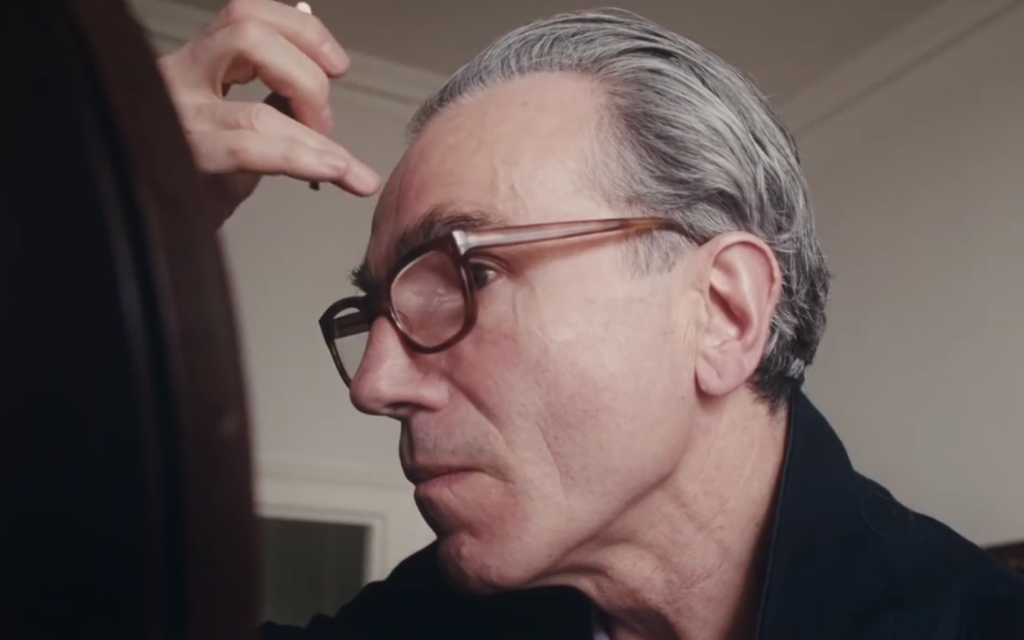 Daniel Day-Lewis as Reynolds Woodcock in 'The Phantom Thread.' (Screenshot)