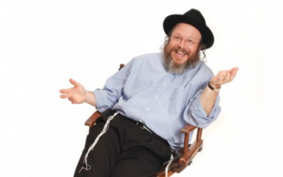 Yisrael Campbell has turned his life journey into a standup act (Courtesy Yisrael Campbell)