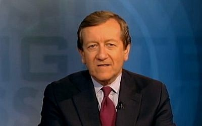 Investigative reporter Brian Ross of ABC News (screen capture: YouTube)