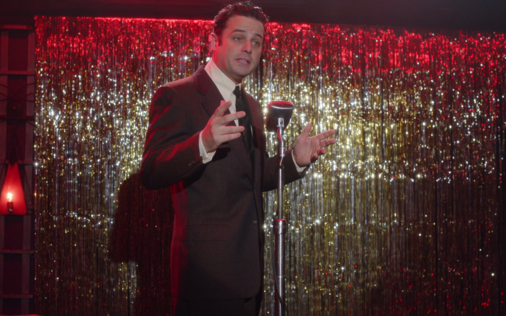 Luke Kirby as Lenny Bruce in 'The Marvelous Mrs. Maisel.' (Screenshot)