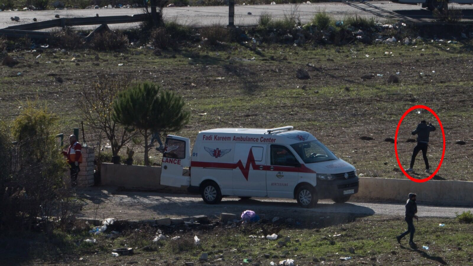 IDF accuses Palestinians of using ambulance as shield for