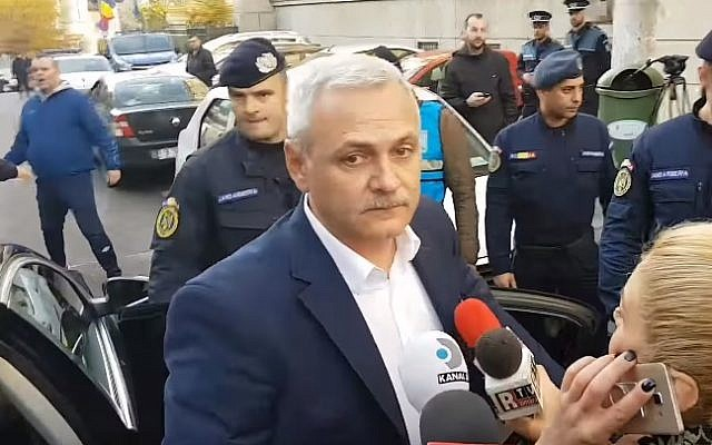 Romanian Parliament head Liviu Dragnea (YouTube screenshot)