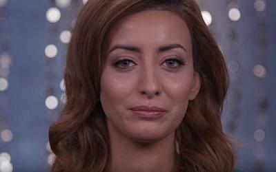 Miss Universe Iraq contestant Sarah Idan (YouTube screenshot)