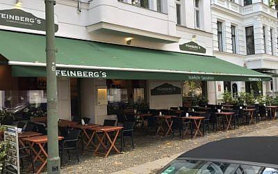 Restaurant Feinberg's in Berlin (Facebook photo)