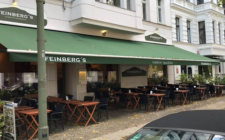 Sag Berlin arrested for anti semitic slurs at owned cafe in berlin