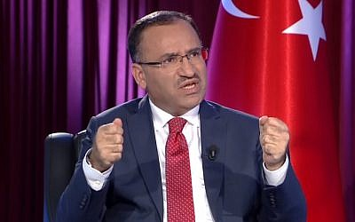 Turkey's Deputy Prime Minister Bekir Bozdag (YouTube screenshot)