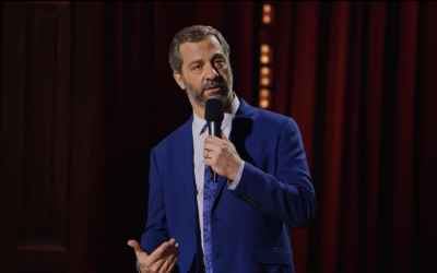 Judd Apatow in his new Netflix stand up special, 'The Return.' (Screenshot)
