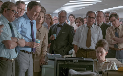 Still from Steven Spielberg's 'The Post.' (Courtesy 20th Century Fox)