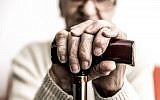 Illustrative image of an elderly person with a cane (oneinchpunch, iStock by Getty Images)