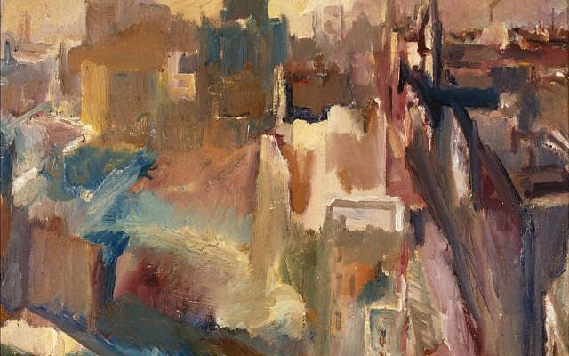 'Evening in the City of London' by David Bomberg. (Courtesy Pallant House Gallery)