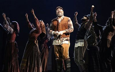 Danny Burstein starring as Tevye in the 2015 Broadway revival of 'Fiddler on the Roof.' (Joan Marcus)