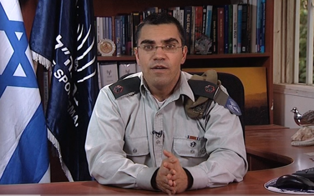 IDF Arabic Spokesman Avichai Adraee. (Screen capture/YouTube)