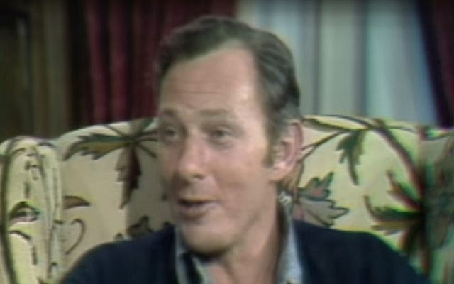 Clifford Irving appearing on '60 Minutes' in 1972. (Screen capture: YouTube/CBS News)