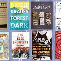 (JTA collage/8 Books for Hanukkah)
