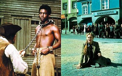 LeVar Burton in the 1977 television miniseries 'Roots,' and Meryl Streep in 1978's 'Holocaust' miniseries (ABC and NBC, respectively)