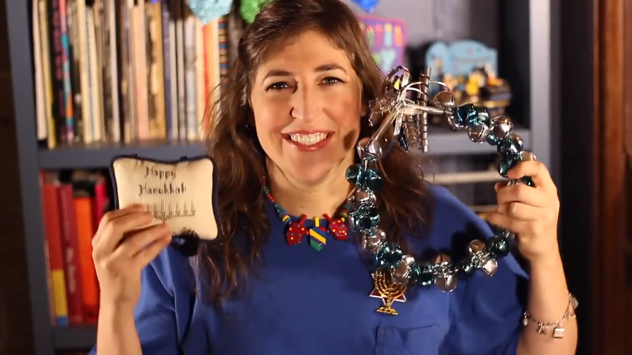 2019 year look- Wear not to what mayim bialik video