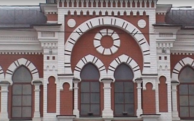 The Podol Synagogue in Kiev, Ukraine. (Youtube screenshot)