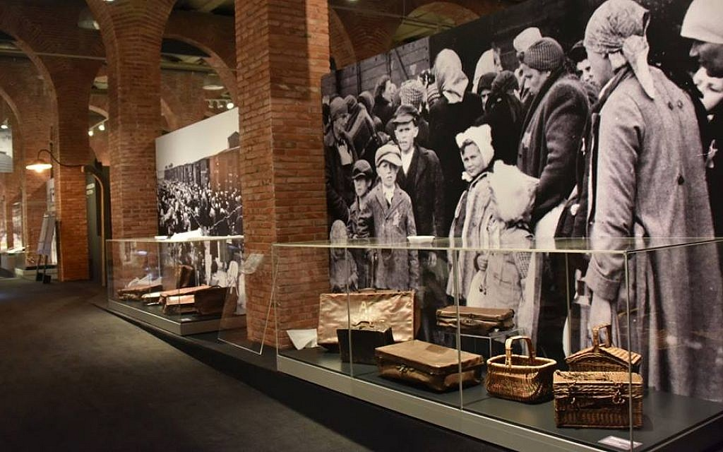 Titled 'Not long ago. Not far away,' an exhibition of artifacts from Auschwitz-Birkenau opened in Madrid, Spain, December 2017 (Courtesy of Musealia)