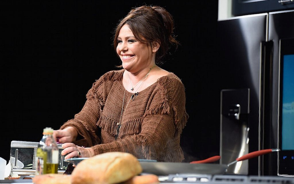 Chef Rachael Ray on stage at the Food Network & Cooking Channel New York City Wine & Food Festival on October 15, 2016.  (Gustavo Caballero/Getty Images for NYCWFF, via JTA)