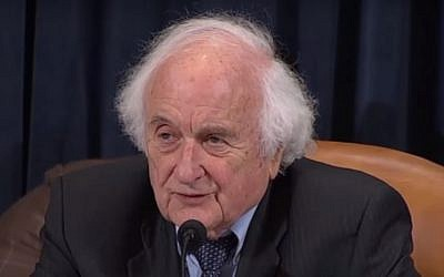 Congressman Sander Levin. (YouTube screenshot)