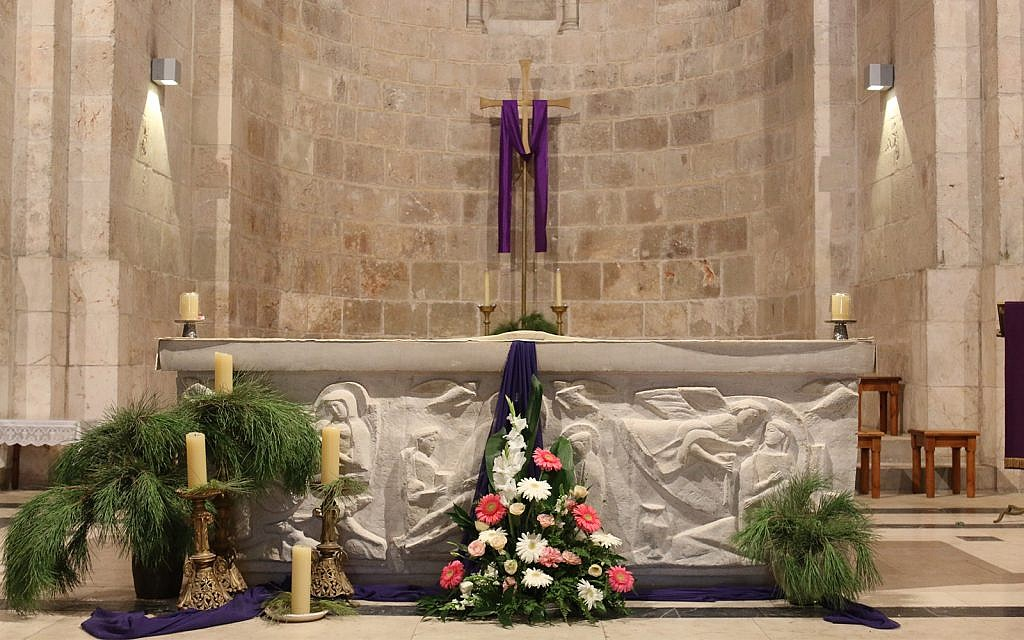 The Crusaders established the Church of St. Anne where they believed the Virgin Mary was born. (Shmuel Bar-Am)