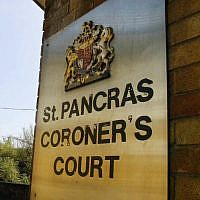 A view of the St. Pancras coroner's court in London. (Carl de Souza/AFP/Getty Images)
