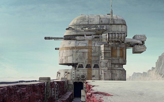 A big, beautiful space ship from 'Star Wars: The Last Jedi.' (Screenshot/Courtesy Walt Disney/Lucasfilms)