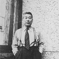 Chiune Sugihara, Kaunas, Lithuania, 1940 (USHMM, courtesy of Hiroki Sugihara)