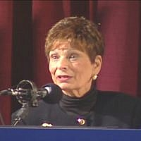 Former Portland, Oregon, mayor Vera Katz. (YouTube screen capture)