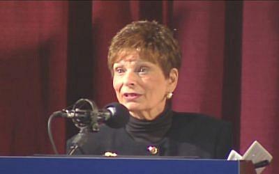 Former Portland, Oregon, mayor Vera Katz. (YouTube screen capture)