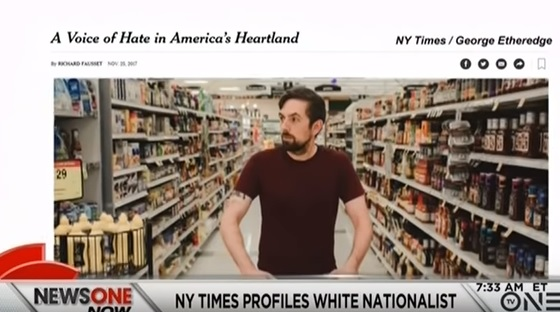 Nazi Sympathizer in NYT Profile Says He Was Fired