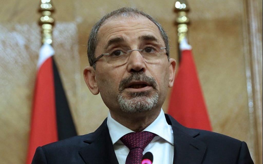 Jordan's FM warns annexation would end chances for Israeli-Palestinian peace