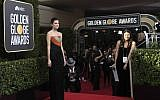 Actress Allison Williams arrives for the 75th Golden Globe Awards on January 7, 2018, in Beverly Hills, California. (AFP/VALERIE MACON)