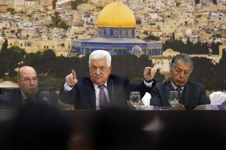 Palestinian Central Council 'Freezes' Recognition of Israel