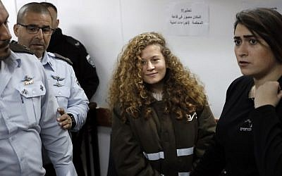 Israel Sentences Ahed Tamimi To Eight Months in Prison