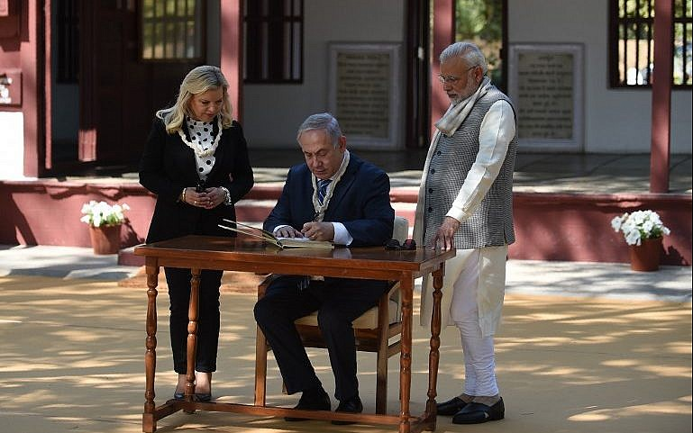PM Modi, Benjamin Netanyahu's 8 Km-Roadshow Today In Gujarat: 10 Points
