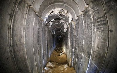 Israeli military says carried out Gaza operation against attack tunnel