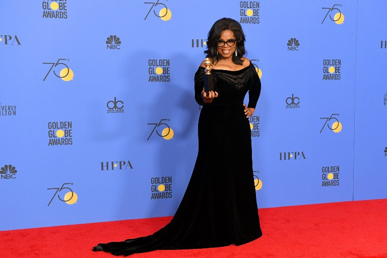 Oprah Winfrey 'actively thinking' about running for president
