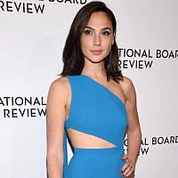 Actor Gal Gadot attends the National Board of Review Awards gala in New York City on January 9, 2018. (Dimitrios Kambouris/Getty Images for National Board of Review/AFP)