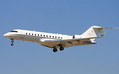 Illustrative: A business jet. (CC-BY-SA Wost01/ Wikimedia Commons)