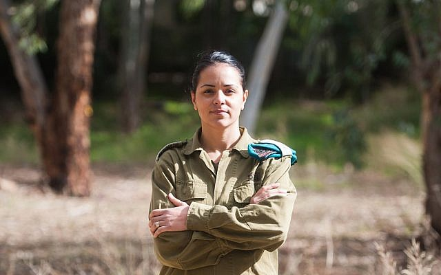 Lt. Col. Reut Rettig-Weiss, commander of the Artillery Corps' Sky Riders Unit and the army's first female combat battalion commander