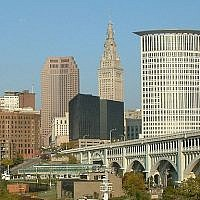 View of downtown Cleveland's skyline (CC-BY-SA Avogadro94/Wikimedia Commons)