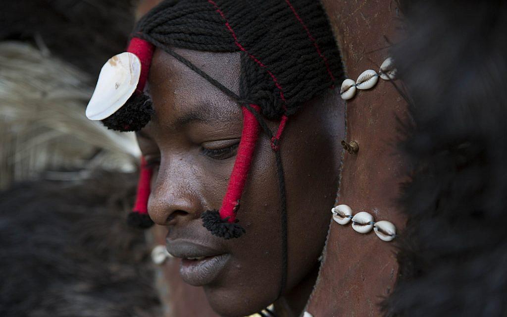 A Maasai warrior. (Marianne Nord)