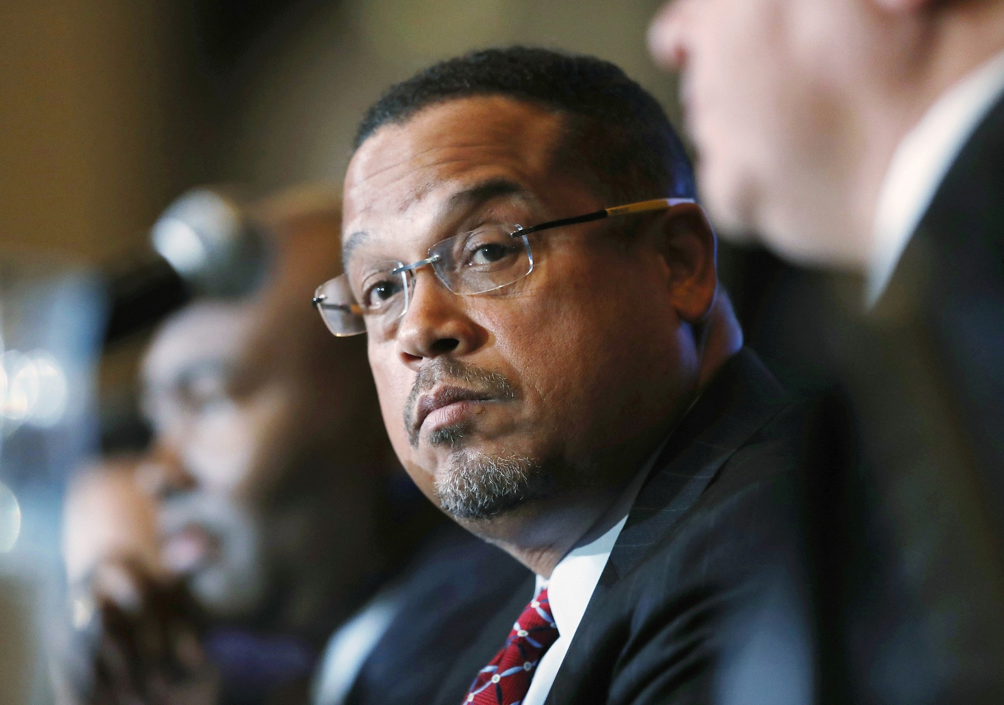 Keith Ellison says he met Rouhani to advocate for captive