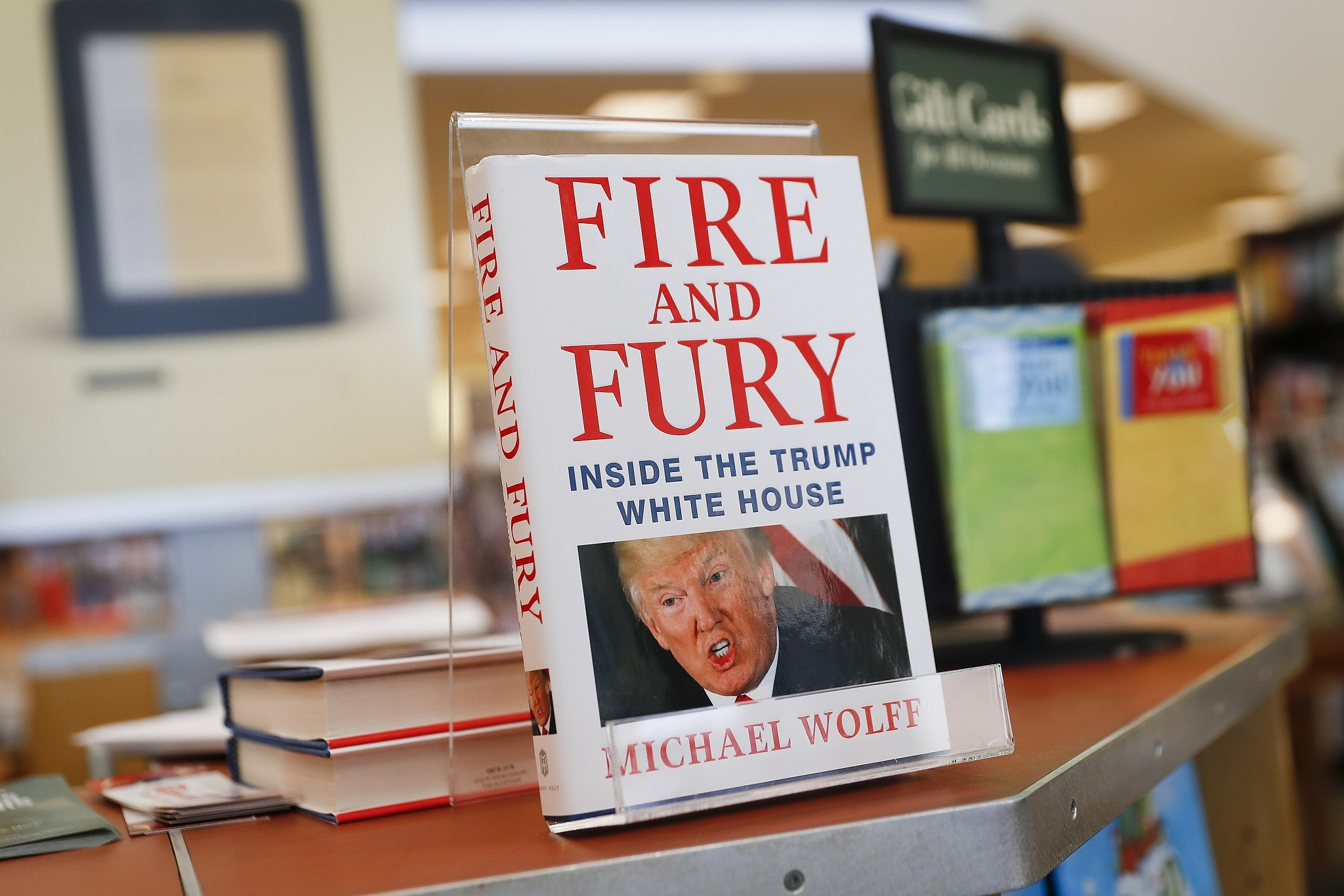 Excerpts From Fire And Fury The Best Seller Trump Failed To