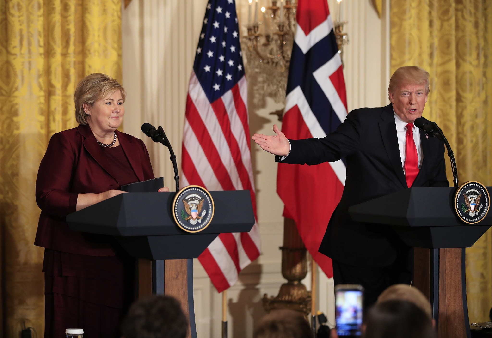Donald Trump Reveals 'Norway Has This Thing Called Water'