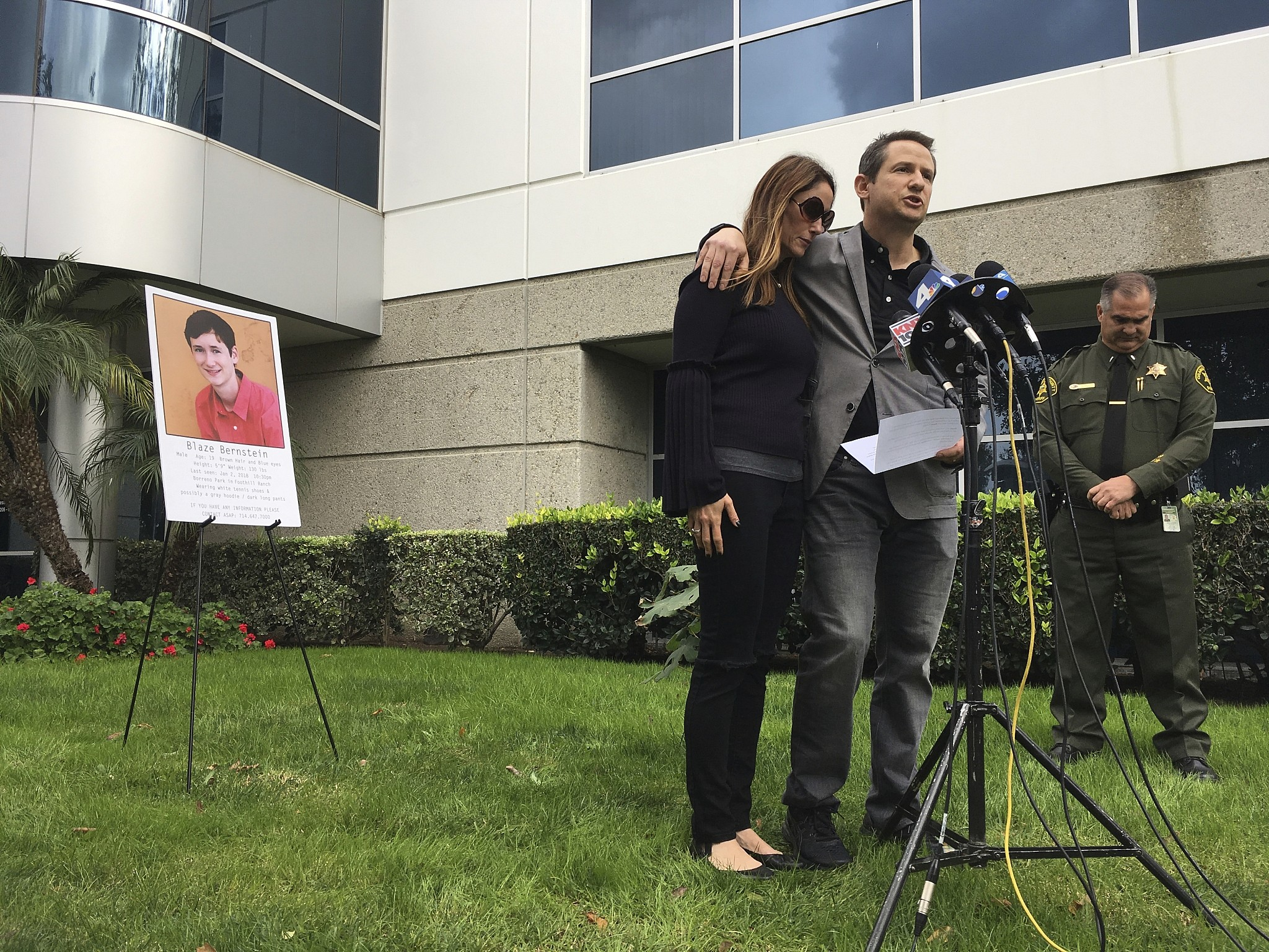 Blaze Bernstein's alleged killer told authorities he was kissed on lips