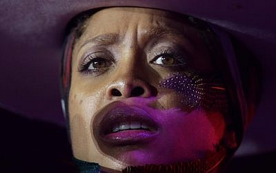 In this file photo from July 6, 2014, Erykah Badu performs at the Essence Festival in New Orleans. (AP Photo/Gerald Herbert, File)