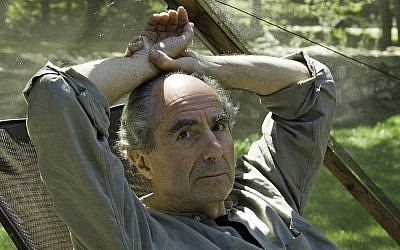 Novelist Philip Roth sits inside a screened tent at his home on September 5, 2005, in Warren, Connecticut (AP Photo/Douglas Healey)